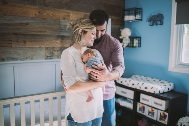 Kitchener Newborn Family Photographer