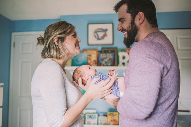 Kitchener Newborn Family Photographer