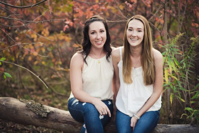 Guelph Mother Daughter Photoshoot