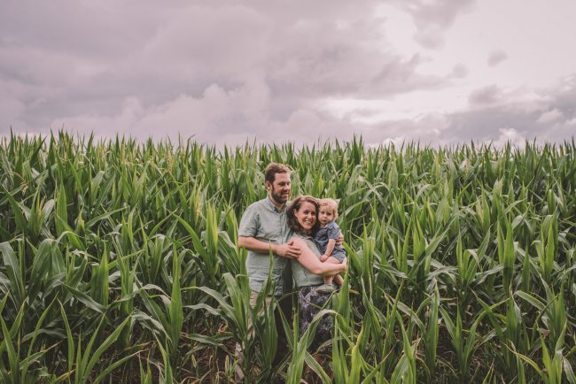 Elora Farm Family Photography