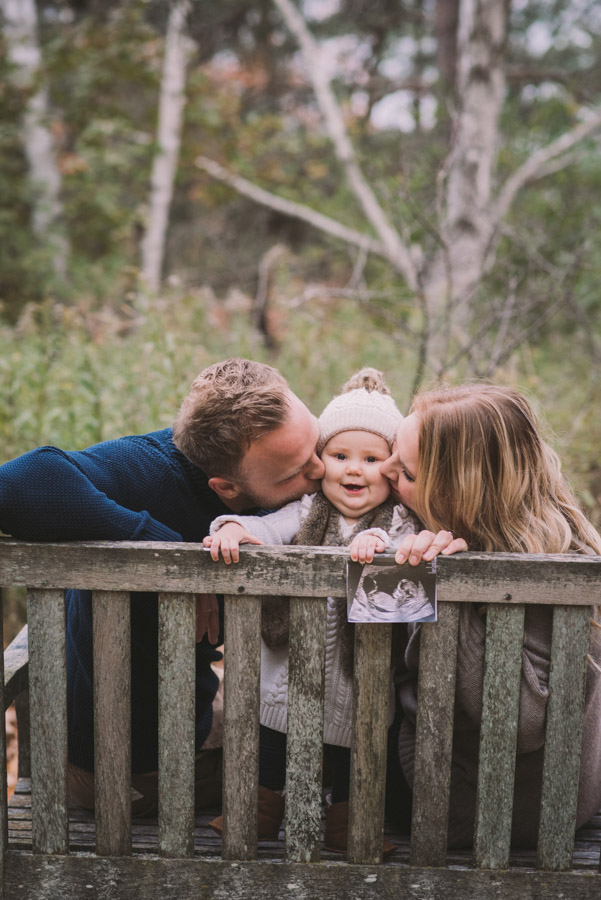 Pregnancy Announcement Photography Guelph Kitchener