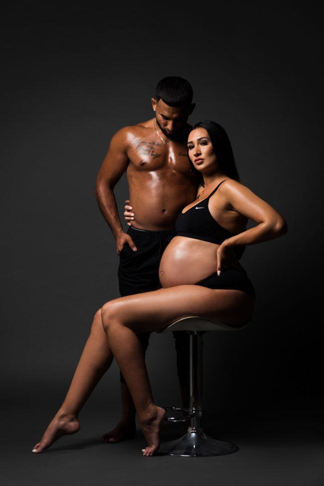 Studio Maternity Photography Kitchener