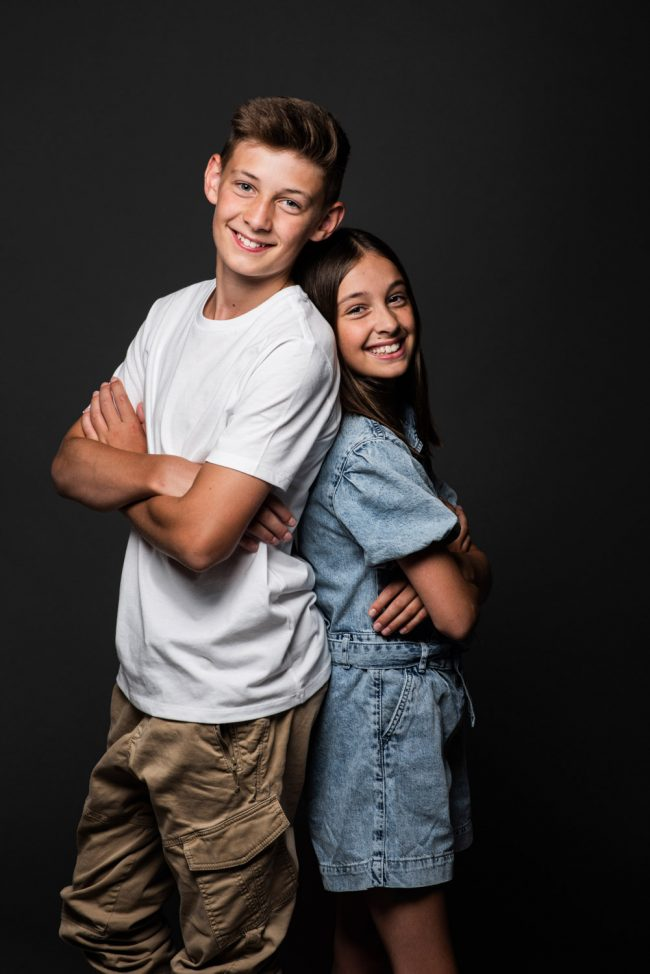 Kids Studio Portraits Kitchener