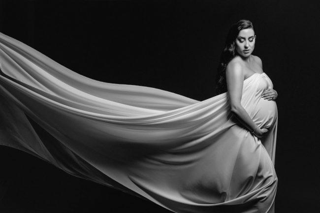 Studio Maternity Photographer Kitchener