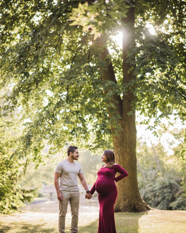 Outdoor maternity photography kitchener waterloo guelph