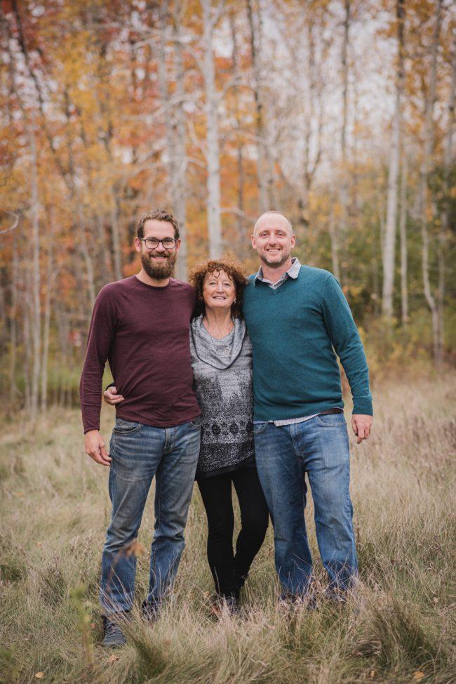 Autumn Family Lifestyle Photoshoot Guelph