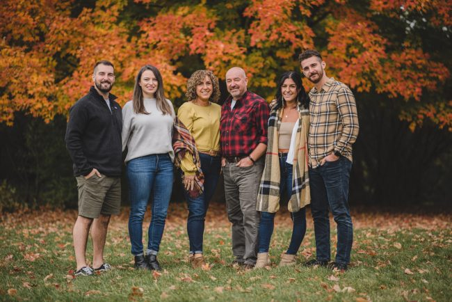 Beautiful Fall Family Photography