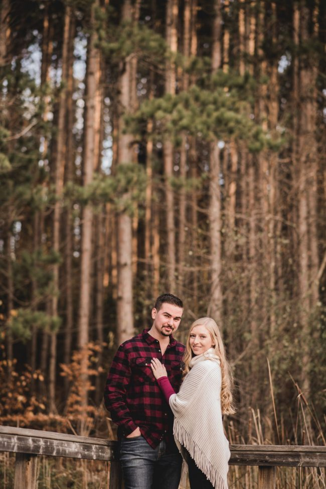 Couples' Photography Huron Natural Area Kitchener