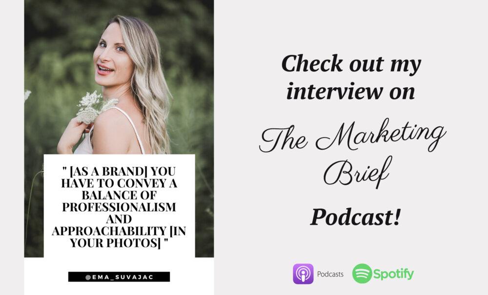 The Marketing Brief Podcast Ema Suvajac