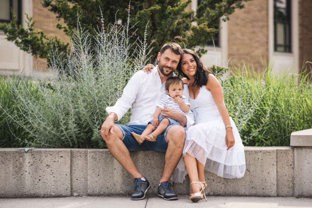 Downtown Waterloo Family Photography
