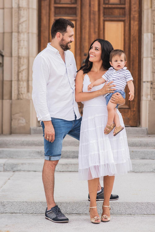 Elegant family photography